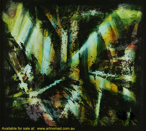 Kevin Charles (Pro) HART (b.1928; d.2006) - ABSTRACT DRAGONFLY