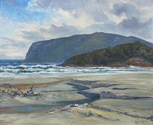 Leonard Hugh LONG O.A.M. (b.1911; d.2013) - AFTER THE STORM COXS BIGHT TASMANIA