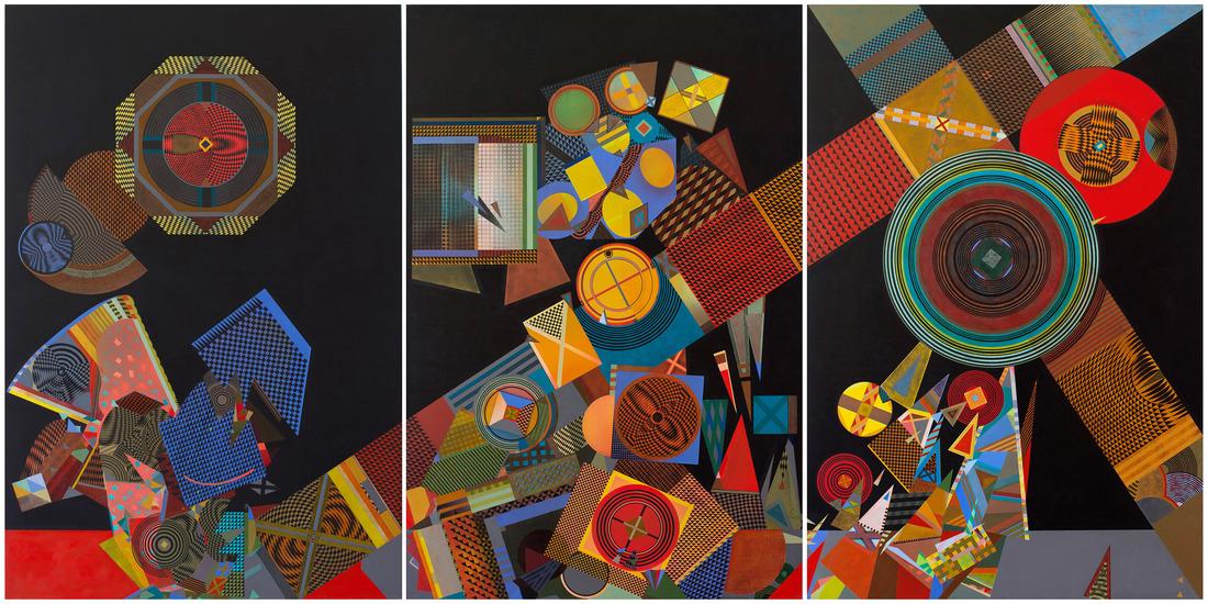 David Keith MILNE (b.1946) - ALCHEMISTS FURNACE INTRICATE PARTS