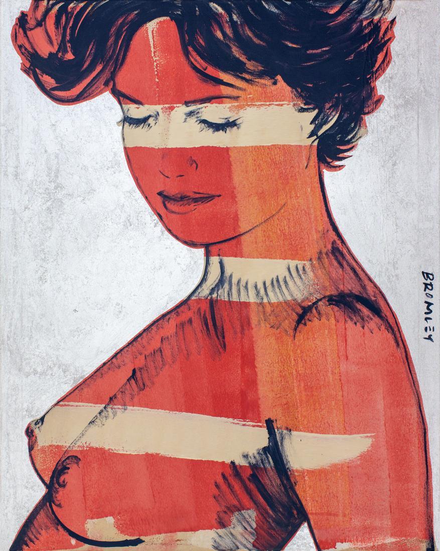 David BROMLEY (b.1960) - CHARLOTTE (Silver Blush)
