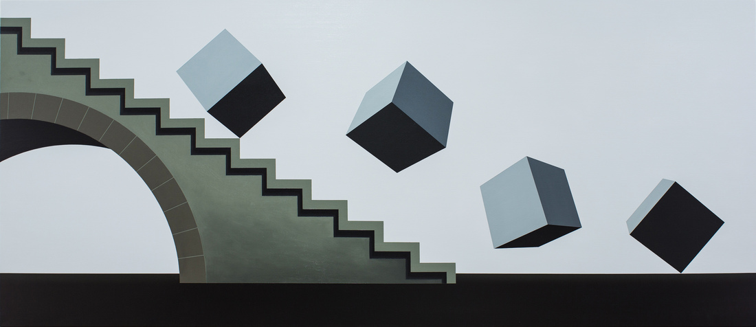 David James RELLIM (b.1986) - DOWNFALL