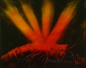 Kevin Charles (Pro) HART (b.1928; d.2006) - DRAGONFLY (1977)
