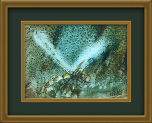 Kevin Charles (Pro) HART (b.1928; d.2006) - DRAGONFLY (c.1983)