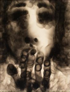 David BOYD (b.1924; d.2011) - FACE & HANDS - KISS I