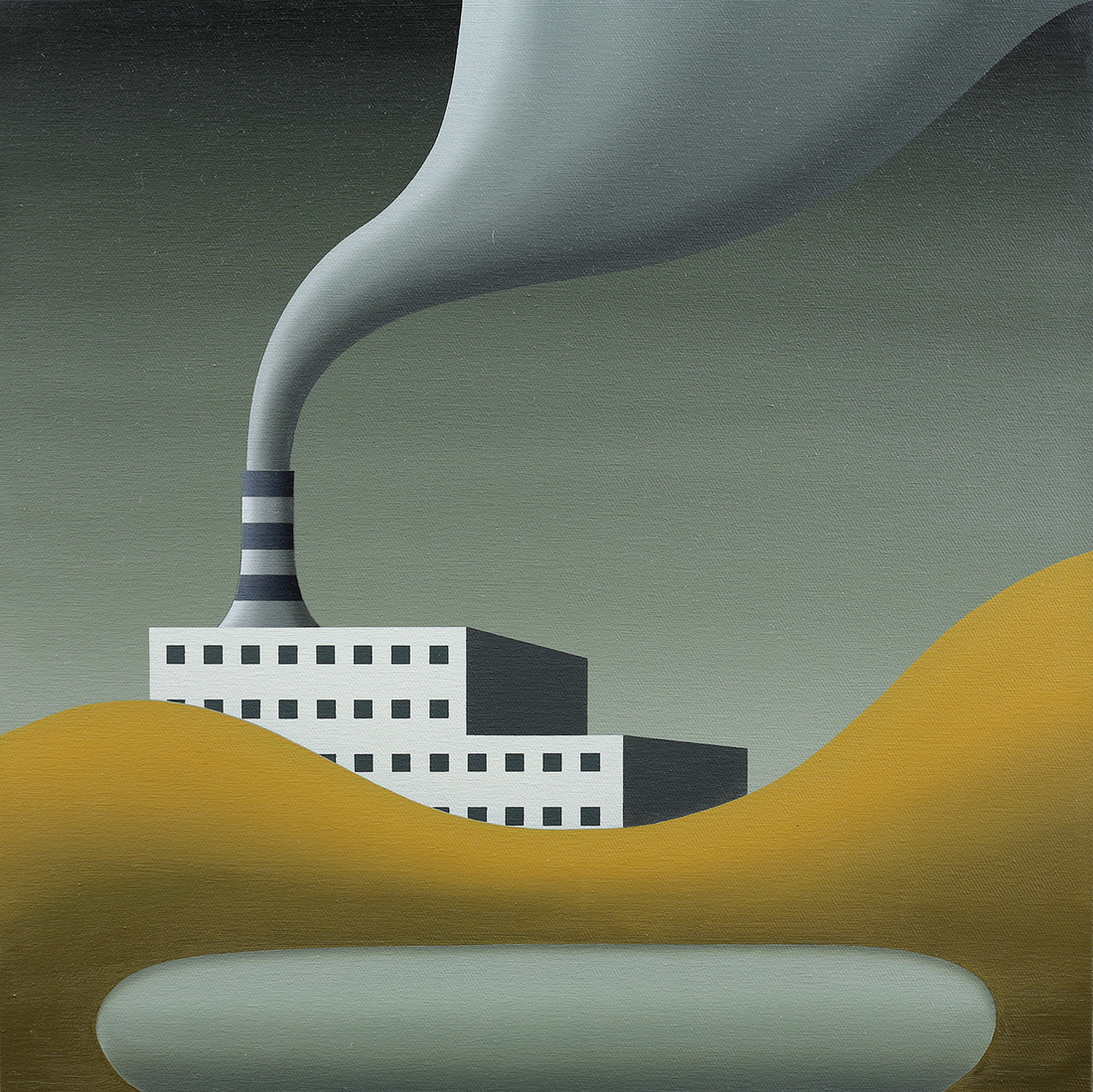 David James RELLIM (b.1986) - FACTORY SMOKE