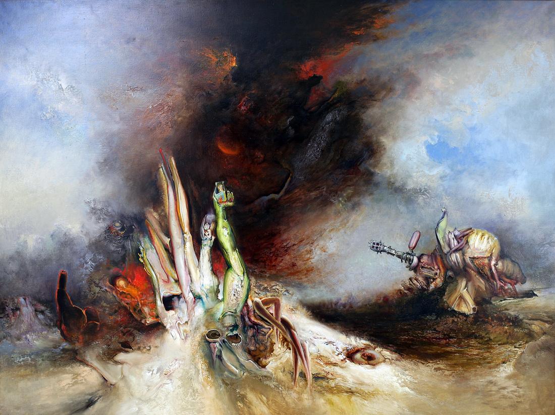James GLEESON A.O. (b.1915; d.2008) - FIRE