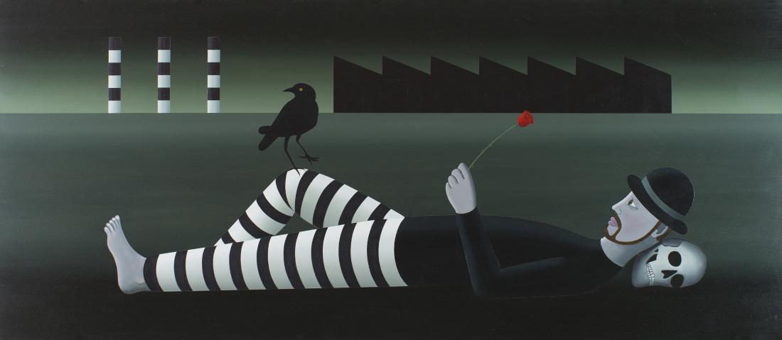 David James RELLIM (b.1986) - FLEETING ROSE