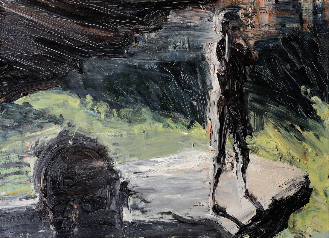 Euan MACLEOD (b.1956) - LEDGE WITH OVERHANG