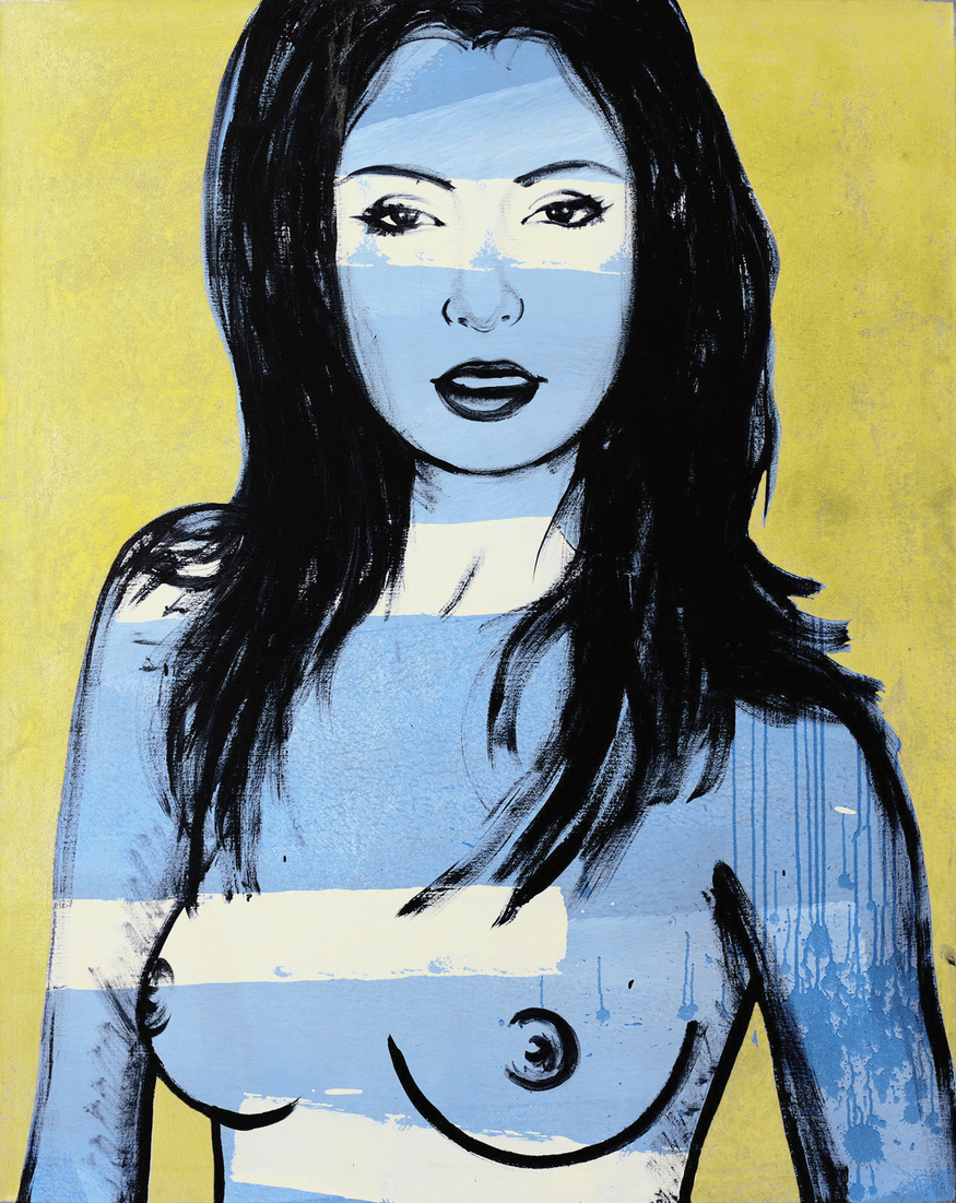 David BROMLEY (b.1960) - MALLORY (Golden in Blue)