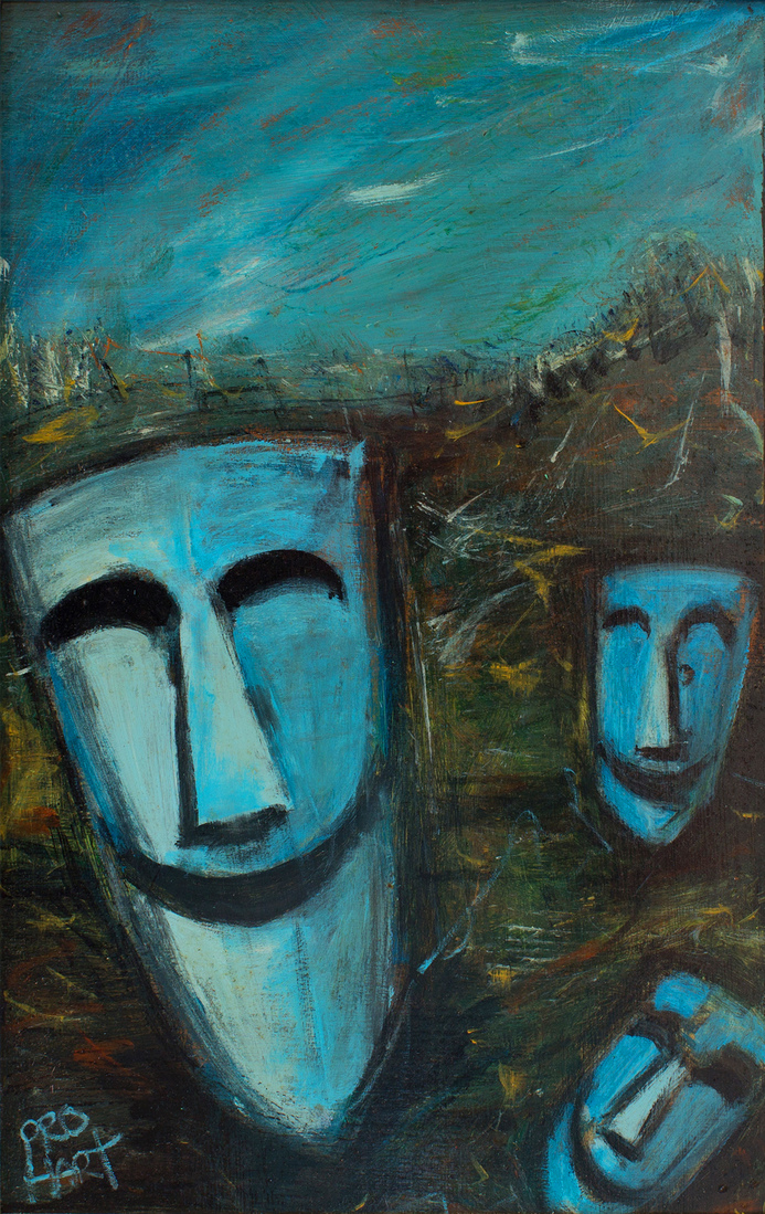 Kevin Charles (Pro) HART (b.1928; d.2006) - MINERS MASKS