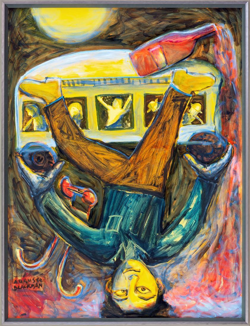 Auguste BLACKMAN (b.1957) - MR UPSIDE-DOWN