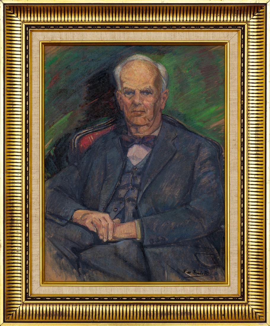 Leroy (Roy) Leveson Laurent de MAISTRE (b.1894; d.1968) - OSWALD FALK