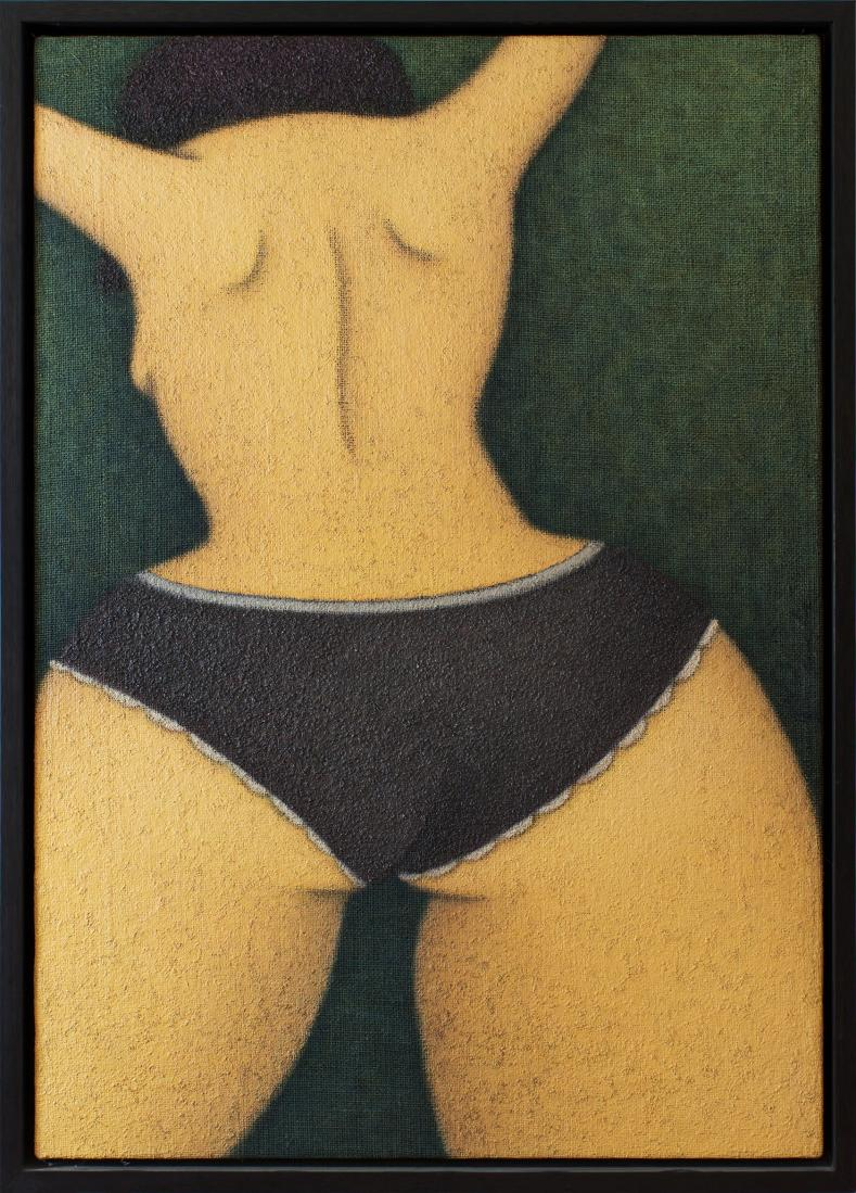 David LAITY (b.1958) - PURPLE PANTIES