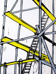Jasper KNIGHT (b.1978) - SCAFFOLD No.1