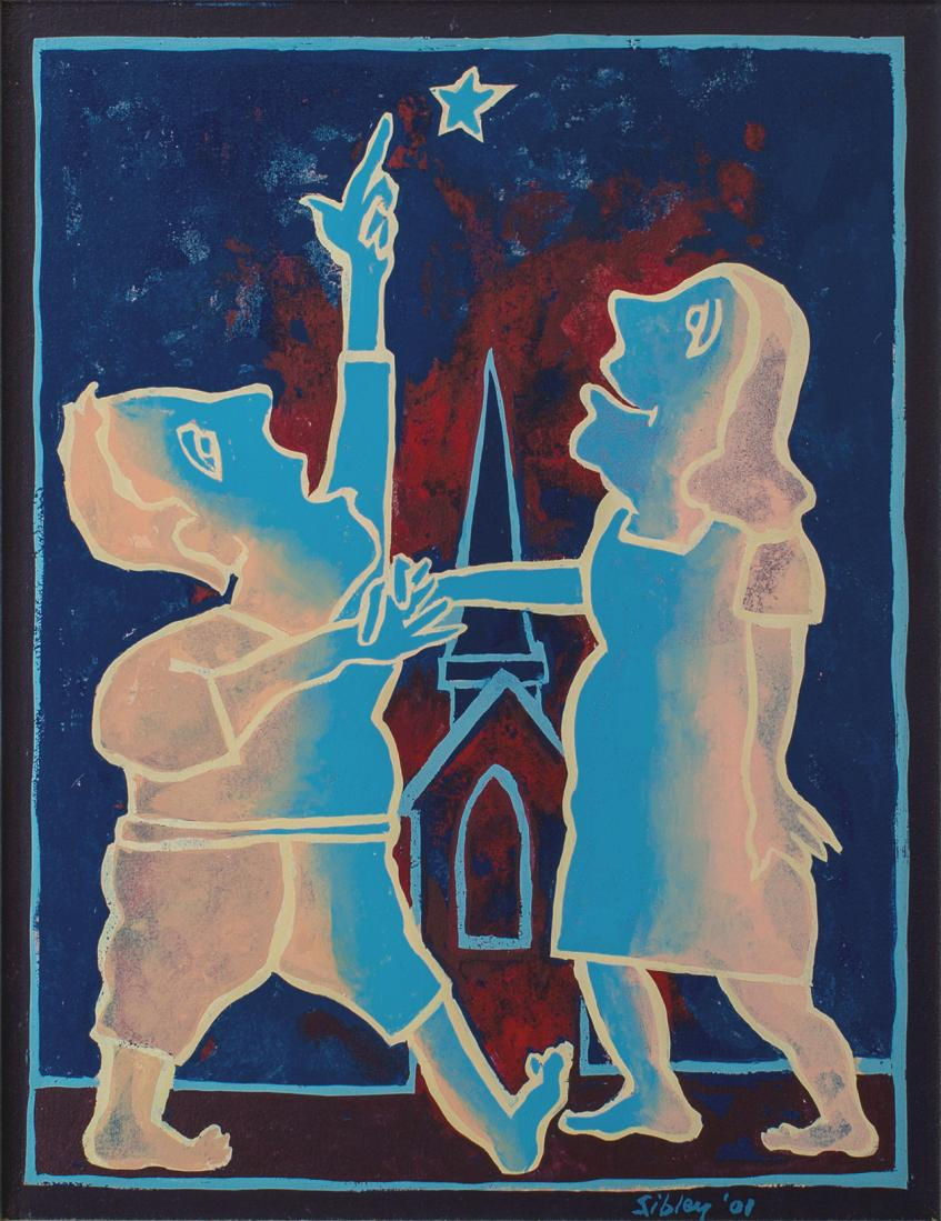 Andrew SIBLEY (b.1933; d.2015) - SECOND LAST DANCE