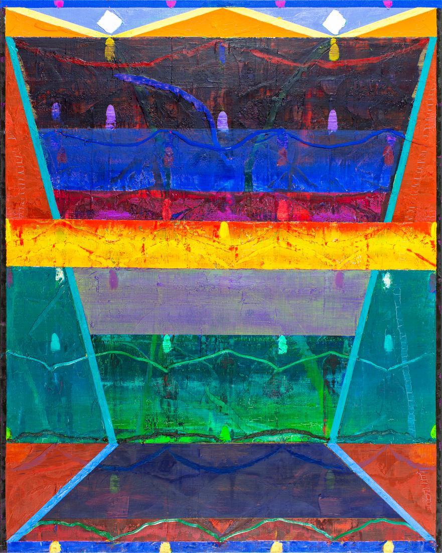 Michael JOHNSON (b.1938) - SOUTHERN REFRACTION