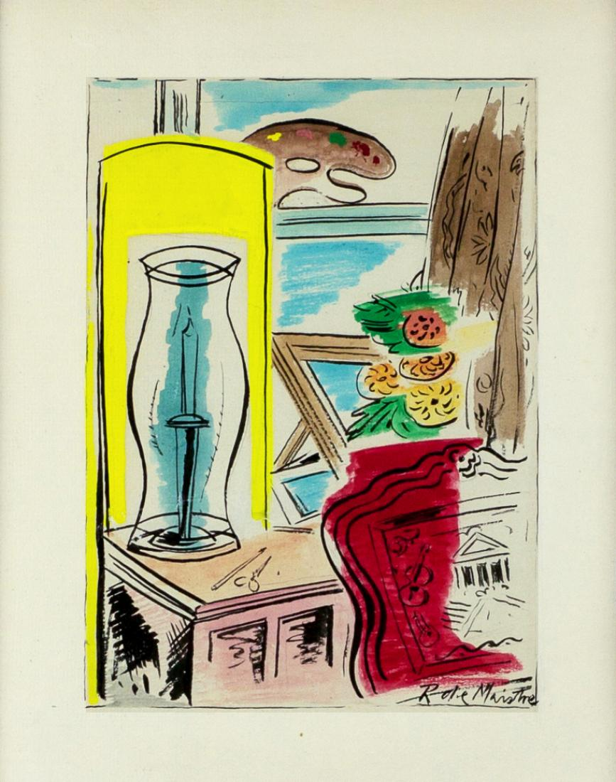 Leroy (Roy) Leveson Laurent de MAISTRE (b.1894; d.1968) - STUDIO STILL LIFE
