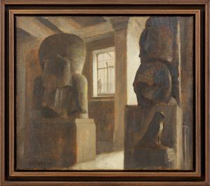 Rick AMOR (b.1948) - Study for ROYALTY