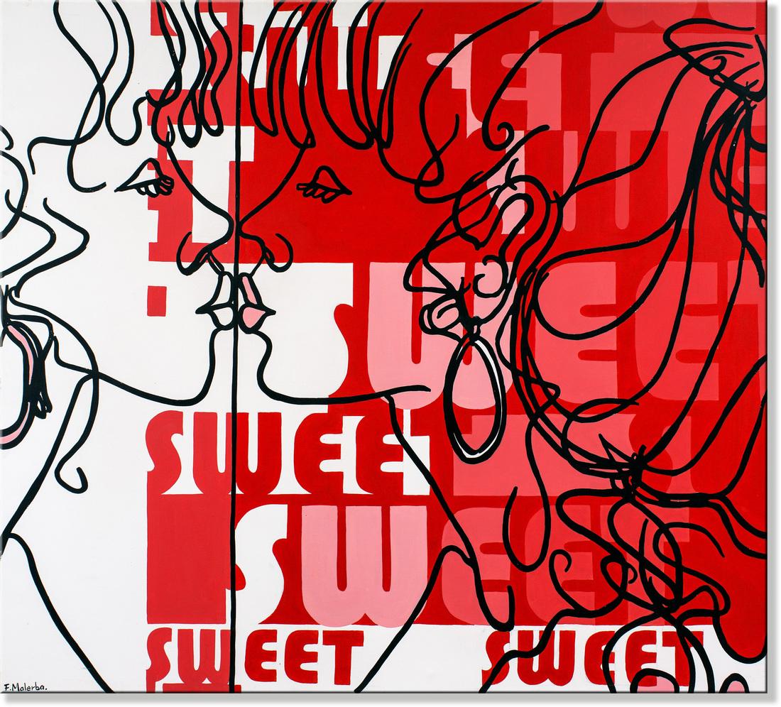 Frank MALERBA (b.1950) - SWEET