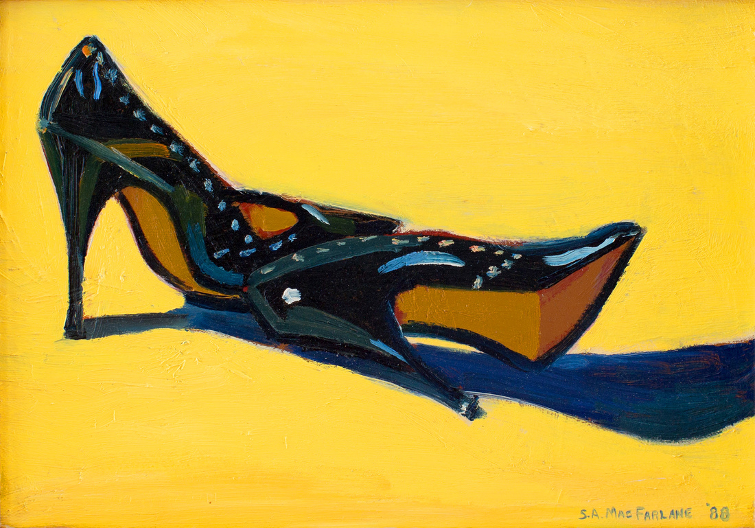 Stewart Angus MACFARLANE (b.1953) - THE BLACK PUMPS