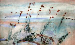 Robert Litchfield JUNIPER A.O. (b.1929; d.2012) - UNTITLED (Landscape)